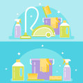 Cleaning Agents, Tools And Dev...