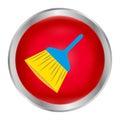 Cleaning brush logo vector