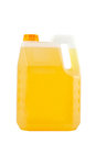Cleaning products. Detergent plastic bottle isolated Royalty Free Stock Photo