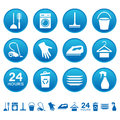Cleaning service icons