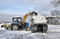 Cleaning and snow loading
