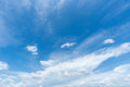 Clear blue sky with cloud Royalty Free Stock Photo