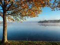 Clear Lake Under Blue Sky during Daylight Stock Photography