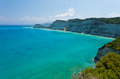 Clear Sea on Corfu Royalty Free Stock Images