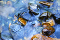 Clear Water and River Stones Royalty Free Stock Photos