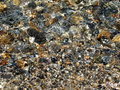 Clear water rocks a picture of under the Royalty Free Stock Photography