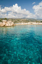 Clear waters of the Mediterranean Stock Photo