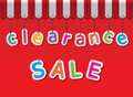 Clearance sale Royalty Free Stock Photo