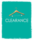 Clearance Sales Poster