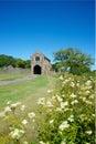 Cleeve abbey english heritage north devon uk Royaltyfri Fotografi