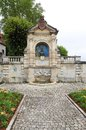 Clement marot monumet cahors france a beautiful stone carved monument dedicated to clément november – september was a french Royalty Free Stock Photography