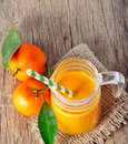 Clementine juice Royalty Free Stock Photography