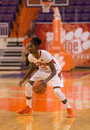 Clemson v middle tennessee w bb sc december nikki dixon surveys the defense Stock Images