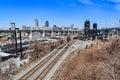 Cleveland Skyline Royalty Free Stock Photo