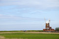 Cley windmill, Norfolk Stock Photos