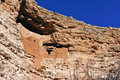 Cliff dwelling Stock Images