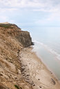 Cliff erosion Royalty Free Stock Image