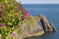 Cliff formation London Bridge Torquay Royalty Free Stock Photo