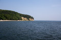 Cliff one of the fishermen s settlements on polish coast beautiful place in gdynia orlowo poland Royalty Free Stock Photo