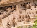 Cliff Palace Ruins, Mesa Verde Royalty Free Stock Photo
