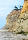 Cliffs on a beach Royalty Free Stock Photo