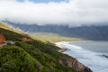 Cliffs and Beaches along a Coastal Road, Garden Route Royalty Free Stock Photo