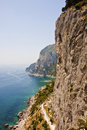 Cliffs of Capri Stock Images