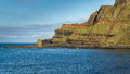 Cliffs at the Giant's Causeway, Northern Ireland Stock Photography