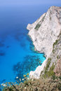 Cliffs at Kampi, Zante Stock Photo
