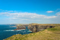 Cliffs in Kilkee, Ireland Royalty Free Stock Image