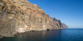 Cliffs of Los Gigantes Royalty Free Stock Photography