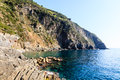 Cliffs and Mediterranean Sea Royalty Free Stock Photos