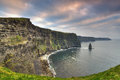 Cliffs of Moher in Co. Clare Royalty Free Stock Photo
