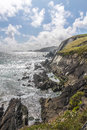 Cliffs at slea head iveragh peninsula county kerry ireland Royalty Free Stock Photos