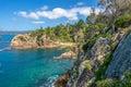 Eden cliffs Royalty Free Stock Photo