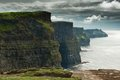Clifs of moher Royalty Free Stock Photo