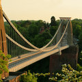 The Clifton Suspension Bridge Bristol Royalty Free Stock Photo