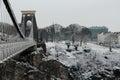 Clifton Suspension Bridge Bristol Royalty Free Stock Photo