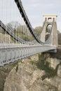 Clifton Suspension Bridge, Bristol Royalty Free Stock Photo