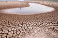Climate change drought land Royalty Free Stock Photo