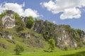 Climbing area Labertalwand near Schoenhofen Royalty Free Stock Photo