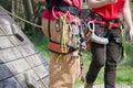 Climbing equipment Royalty Free Stock Photo