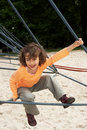 Climbing frame Royalty Free Stock Photo