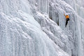 Climbing Icefall The Cathedral...