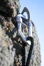 Climbing iron