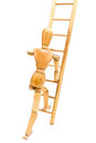 Climbing Ladder Royalty Free Stock Photo