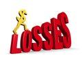 Climbing Losses Stock Photos