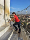 Climbing the Tower Stock Photography