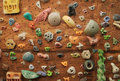 Climbing wall Stock Image