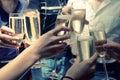 Cinkali šampanské okuliare